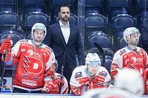 Tomáš Rolinek v roli týmového manažera HC Dynamo Pardubice