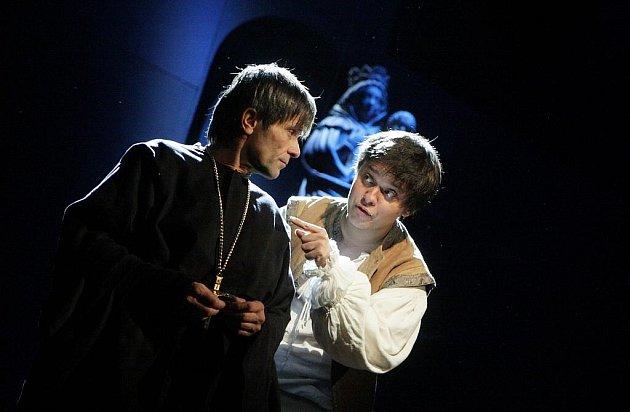 Zvoník Matky Boží - Petr Borovec (vpravo) s Martinem Mejzlíkem