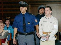 Obžalovaný z vraždy Radek Chaloupka