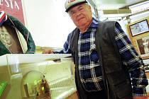 Výstava Zlaté přilby, na snímku Jiří Šmída