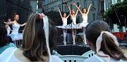 Zrcadlo umění 2016 - taneční vystoupení Konsonance - baletního souboru ZUŠ Havlíčkova.