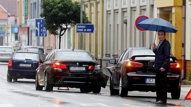Nehoda Jiřího Skalického v Bubeníkově ulici