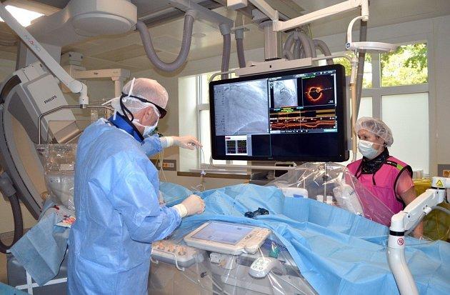 Optická koherentní tomografie.
