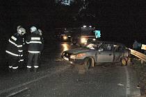 SRÁŽKA nedaleko Seče skončila několika zraněními