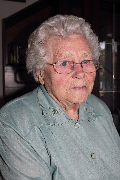 Ludmila Kalousová, zdroj fotografie: Paměť národa