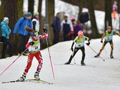 Účastníci zimní Olympiády dětí a mládeže mají za sebou úvodní běžecké disciplíny.