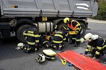U Parama došlo k vážné dopravní nehodě.