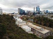 Austrálie na kole. Tohle je začátek - město Perth.