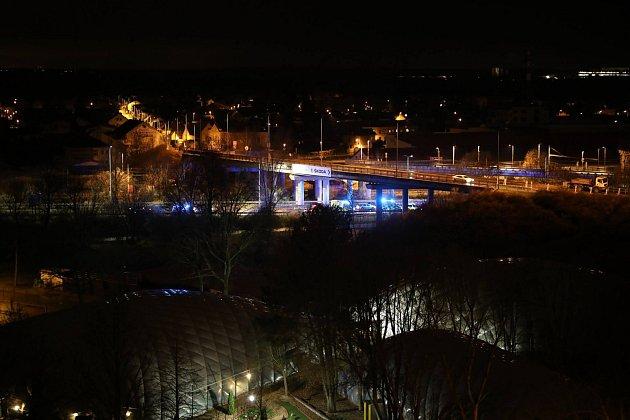 Dopravní nehoda na Nádražní ulici.