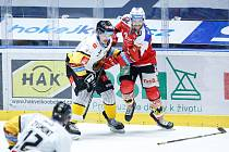 Hokejová extraliga: HC Dynamo Pardubice - HC Verva Litvínov.