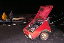 První tragédie na nebezpečné křižovatce na novém obchvatu Holic.
