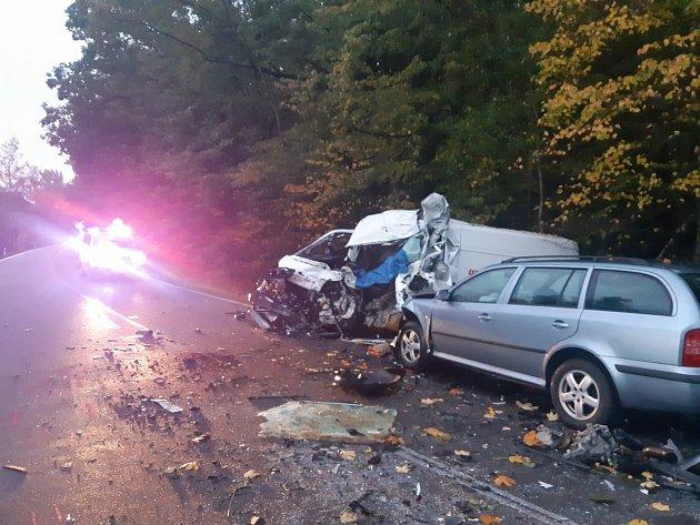 Dopravní nehoda uChvojence