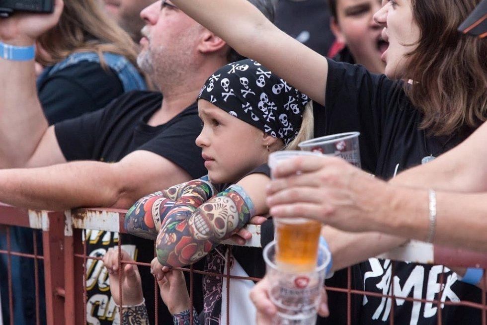 Pernštejnské slavnosti v pardubickém pivovaru.