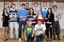 """Vedení """"sporťáku"""" každoročně vyhlašuje nejlepší sportovce a nejpilnější studenty."""