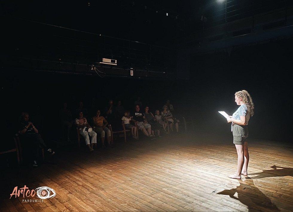 Doposud poslední akce pořádaná 19. července v Divadle 29, která díky organizaci Artco proběhla, byla spojením více druhů umění.