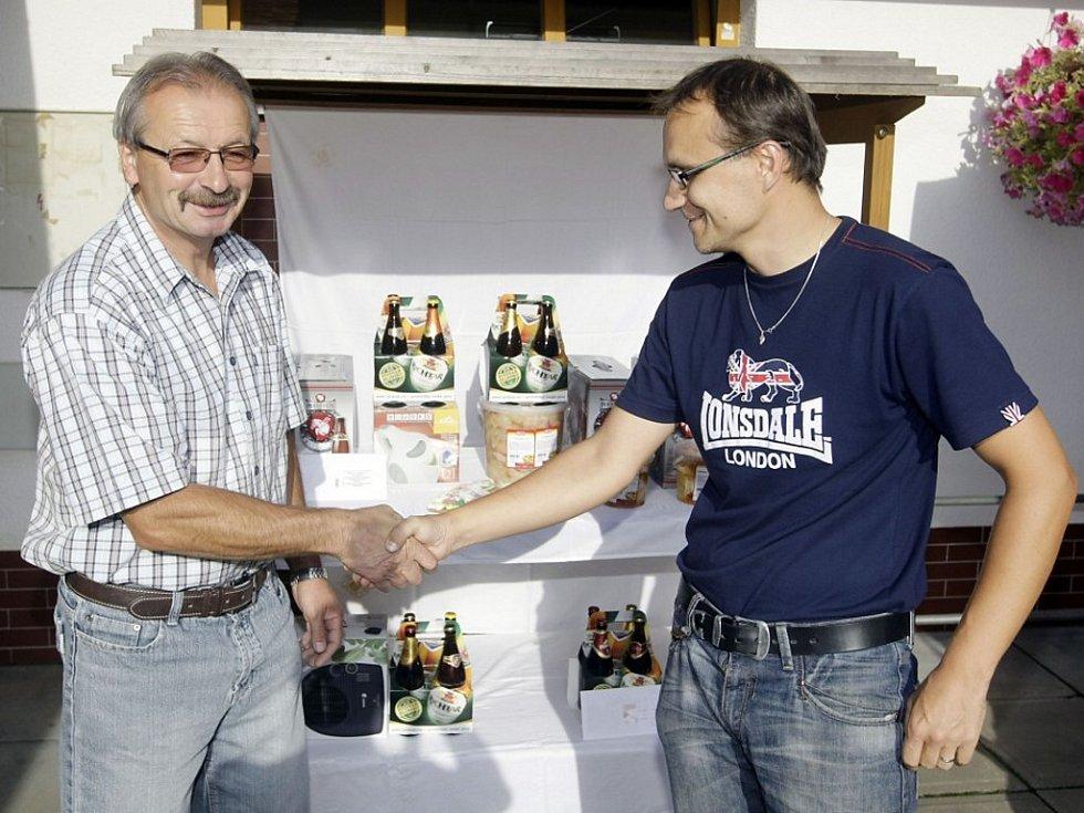 Palmu vítězství si odnesl Ladislav Kubizňák ze Sezemic