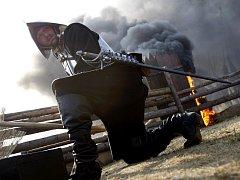 Zpátky do roku 1620 přenesla diváky i účastníky rekonstrukce bitvy na Bílé hoře