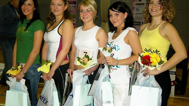 Vendula Kopecká (Vysoké Mýto), 2. Tereza Willmanová (Praha), Jitka Vítová (Dolní Lichvary), Vendula Scheibová (Polička) a Monika Fišlová (Praha)