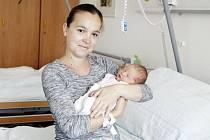 KATEŘINA MIKYNOVÁ se narodila 22. srpna ve 22 hodin a 27 minut. Měřila 51 centimetrů a vážila 3530 gramů. Maminku Nelu podpořil u porodu tatínek Václav. Bydlí v Pardubicích.