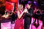 IX. ročním Plesu médií a filantropie v pardubickém ABC klubu