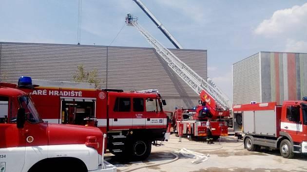 Požár olejů v Čeperce