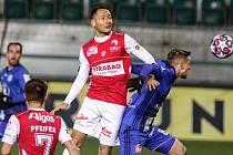 Fotbalová FORTUNA:LIGA: FK Pardubice - SK Sigma Olomouc.