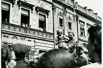 Květen 1945 v Pardubicích. Příjezd Rudé armády.