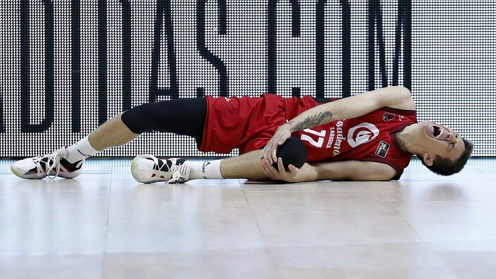 Vít Krejčí se zranil v utkání s Realem Madrid.