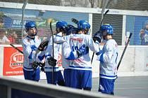 Pardubičtí hokejbalisté na cestě za obhajobou zlata