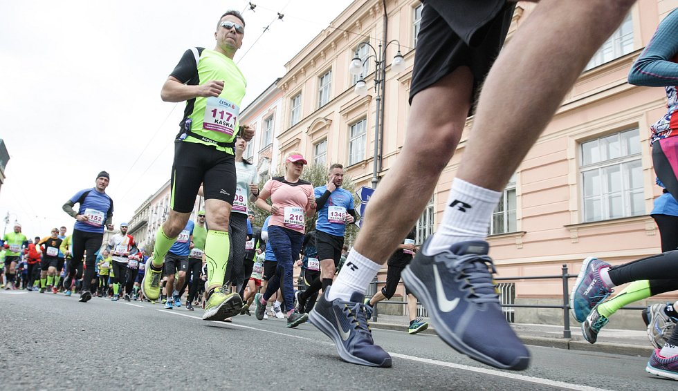Pardubický vinařský půlmaratón a Mistrovství ČR mužů a žen v půlmaratonu 2019 v ulicích města Pardubic.