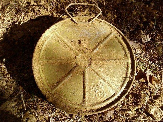 Miny vykopaná v okolí Zdechovic