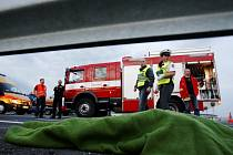 Další tragická nehoda na holickém obchvatu. 37 letá řidička svým zraněním na místě podlehla