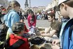 Den Země 2013 na Pernštýnském náměstí v Pardubicích