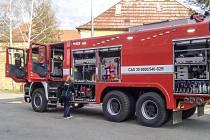 Zdejší dobrovolní hasiči mají nové auto za více než sedm milionů korun, jde o jeden z nejmodernějších vozů v užívání dobrovolných sborů v České republice.