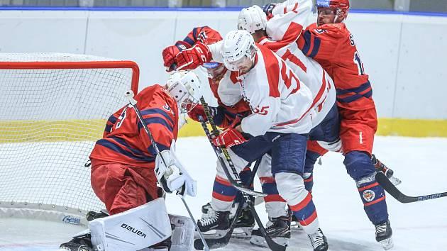 Hokej - přípravný zápas: Pardubice - Zvolen 6:4
