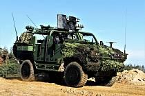 Obrněné vozidlo Perun z přeloučského SVOSu