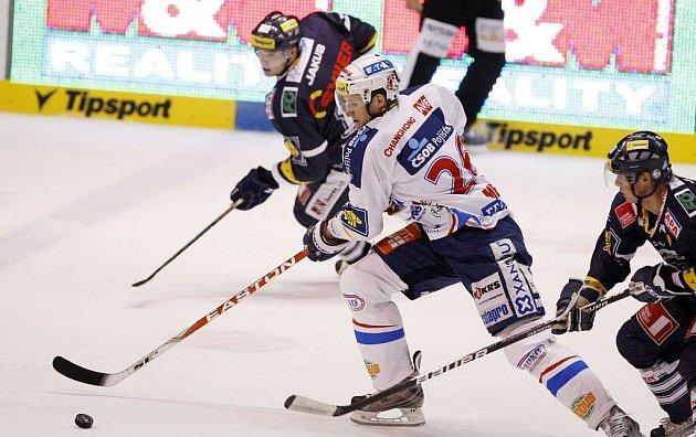 Hokejisté Pardubic prohráli na svém ledě s Libercem podruhé během měsíce a půl