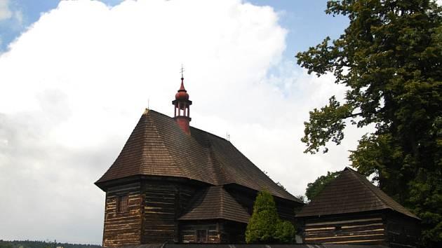 Kostelík ve Velinách
