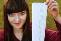 Tereza Neuwirtová jede na stáž do Japonska