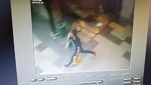 Zloděj ochran utíkal ochrance