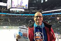 Na návštěvě u Islanders. Zdeněk Zamastil v New Yorku nevynechal ani NHL.