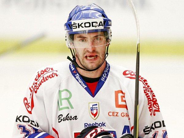 REPREZENTAČNÍ dres Petr Čáslava obléká často.