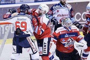 Hokejová extraliga Pardubice - Vítkovice