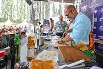 Gurmánský festival dobrého jídla a pití Beko Fresh festival na pardubickém dostihovém závodišti.