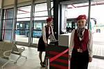 Pardubické letiště se na den přeměnilo na letiště pražské. Točil se na něm film Vysoká hra.