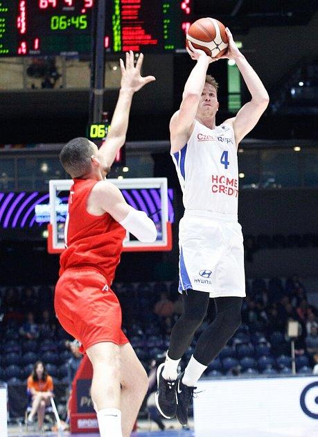 Tomáš Vyoral vutkání proti Dánsku.