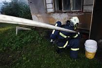 Požár v Lukovně založil jeden z majitelů usedlosti. Sám se poté zastřelil na půdě.