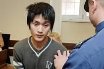 Obžalobu ze spáchání pokusu vraždy vyslechl u hradeckého krajského soudu dvacetiletý Que Tai Dang z Vietnamu