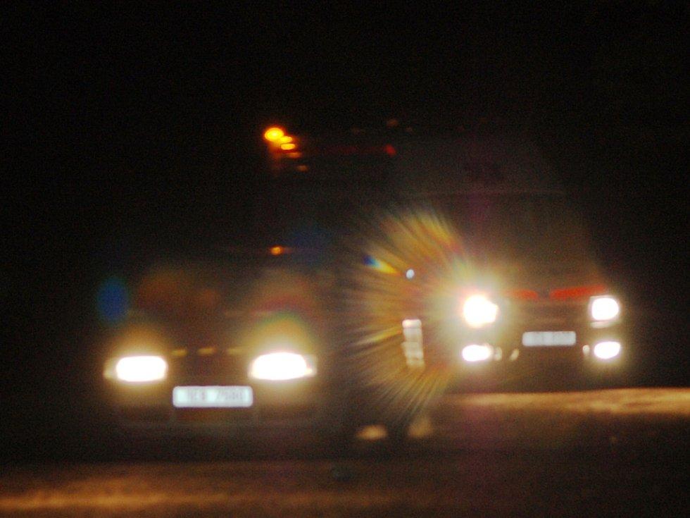 Záchranku na místo navedl hlídkový vůz městské policie.