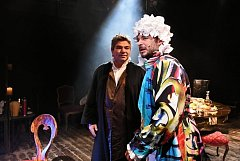 Jiří Kalužný (jako Bach) a Tomáš Lněnička (jako Händel).